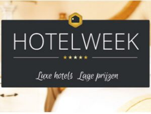Hotelweek: 4- en 5-sterrenhotels vanaf € 40 per kamer per nacht